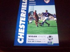 Chesterfield v Wigan Athletic, 1997/98 [CC]